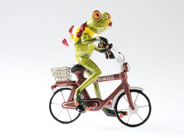 Oetel op een rode fiets, Oeteldonk